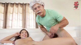 Axxxteca: Abella danger gets her hot juicy ass fucked by professor Evert Geinstein, hot anal fuck!!