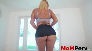 Curvaceous Nina Kayy drilled with taboo dick in POV