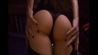 Deepthroating and sex in stockings and a garter