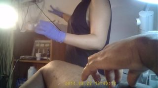 waxing by spanish girl on hidden camera part 4